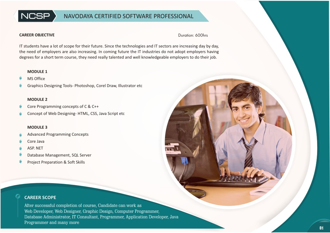 NAVODAYA CERTIFIED SOFTWARE PROFESSIONAL