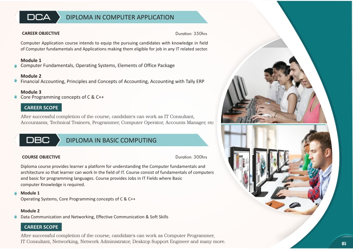 Computer Application Courses
