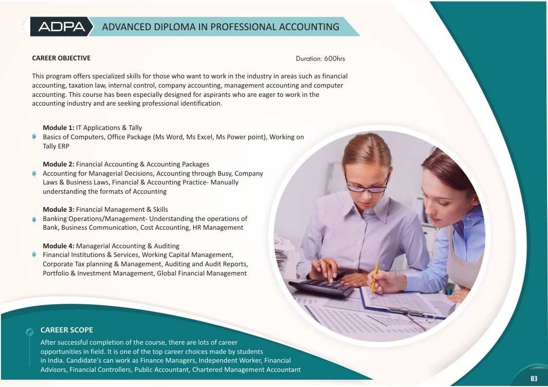 Advance Diploma in Professional Accounting